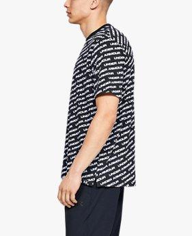 남성 UA 언스타퍼블 워드마크 티셔츠