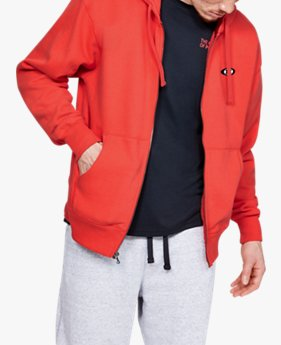 Polerón UA Performance Originators Fleece Full Zip para Hombre
