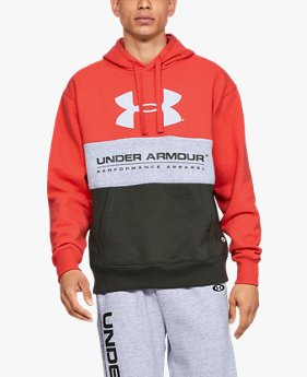 Felpa con cappuccio UA Performance Originators Fleece Logo da uomo