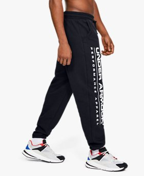 Men's UA Performance Originators Fleece Logo Trousers