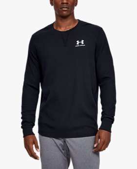 Men's UA Sportstyle Essential Texture Crew