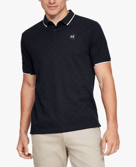 Playera Polo UA Ace Novelty para Hombre