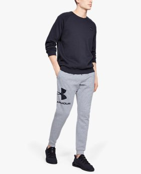 Men's UA Rival Fleece Logo Joggers