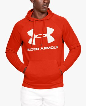 Sweat à capuche UA Rival Fleece Logo pour homme