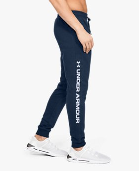 Herenjoggingbroek UA Rival Fleece Logo