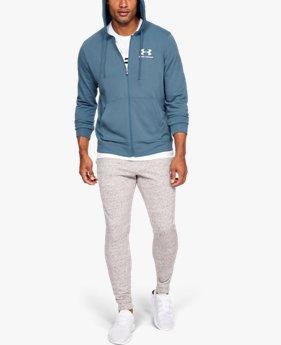 【アウトレット】UAスポーツスタイル テリーフルジップ(トレーニング/MEN)