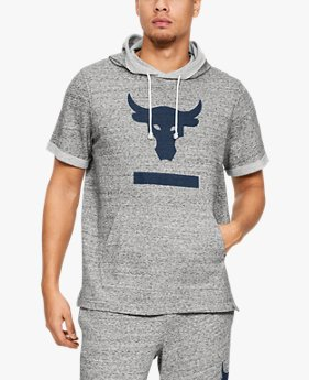 Men's UA x Project Rock Terry Short Sleeve Hoodie