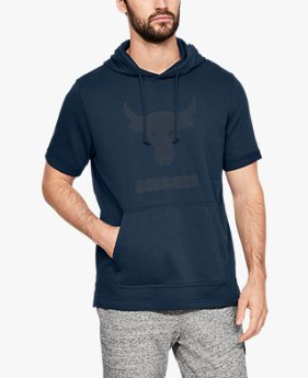 Men's Project Rock Terry Short Sleeve Hoodie