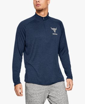Men's UA x Project Rock Tech™ ½ Zip