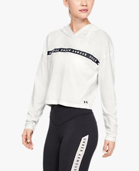 Women's UA Taped Crop Hoodie