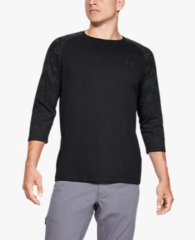 Men's UA Camo Sleeve Utility T