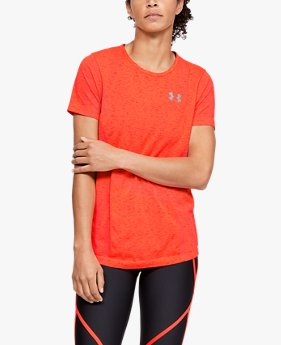 Women's UA Vanish Seamless Short-Sleeve Spacedye