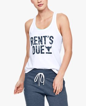 Polera Sin Mangas Project Rock Rents Due X-Back para Mujer