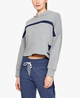 Women's Project Rock Taped Fleece Hoodie