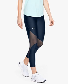 Leggings Project Rock HeatGear® Armour Ankle Crop para Mujer
