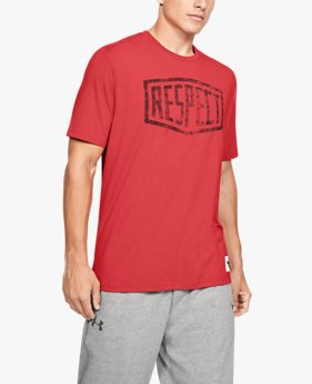 Men's Project Rock Graphic Respect Short Sleeve