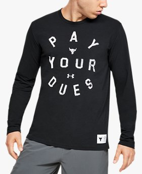 Men's Project Rock Pay Your Dues Long Sleeve