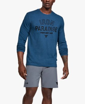 Men's Project Rock Iron Paradise Long Sleeve