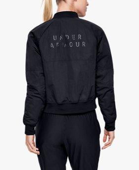 여성 UA 언스타퍼블 무브 라이트 보머 재킷