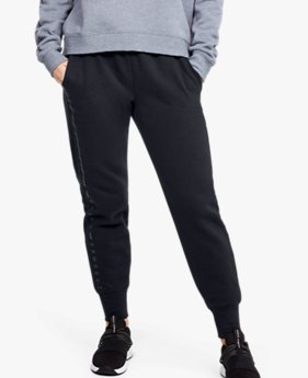 Pantalones UA Microthread Fleece Graphic para Mujer