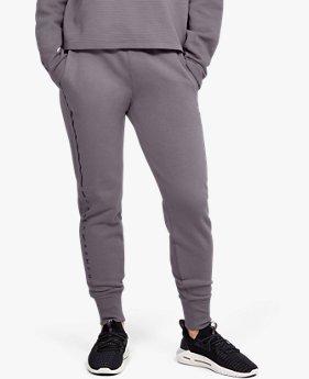 Pantalones UA Microthread Fleece Graphic para Mujer