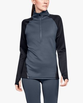 Women's ColdGear® Armour ½ Zip Colour Block
