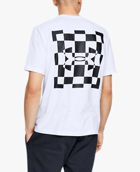 Camiseta UA Always On Racing Flag Graphic para hombre