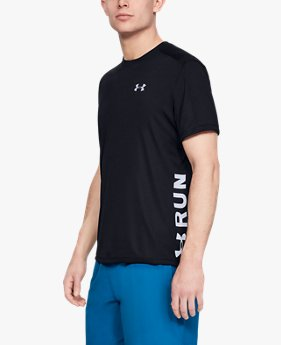 Camiseta UA Speed Stride Split Masculina