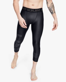 Leggings HeatGear® Armour Graphic 3/4 para Hombre