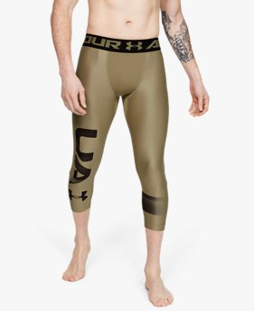 Leggings HeatGear® Armour Graphic 3/4 pour homme