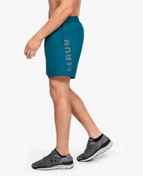 Men's UA Speed Stride Graphic 7'' Woven Shorts