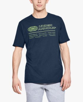 Camiseta de Manga Curta UA Global Masculina