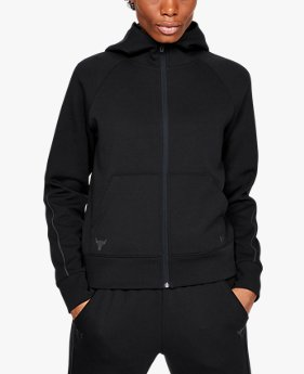 Women's Project Rock Double Knit Full Zip