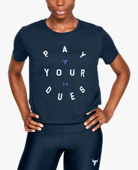 Playera Project Rock Dues Graphic para Mujer