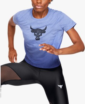 Polera Project Rock Bull Graphic para Mujer