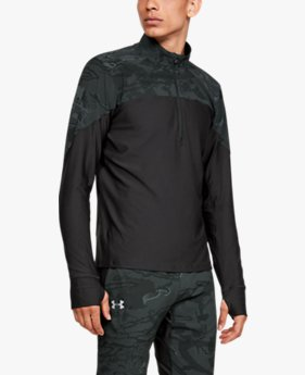 Men's UA Qualifier Camo ½ Zip
