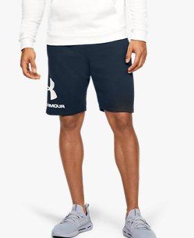Shorts UA Rival Fleece Graphic para Hombre