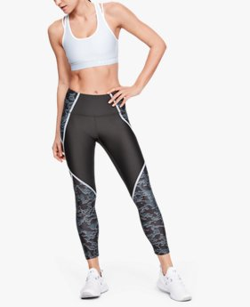 Women's HeatGear® Armour Edgelit Print Ankle Crop