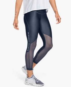 Women's HeatGear® Armour Mesh Graphic Ankle Crop