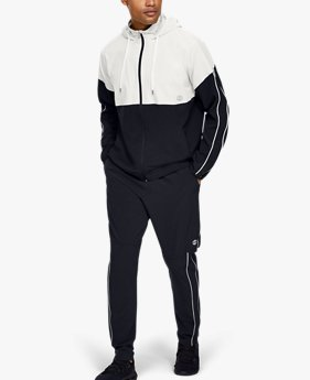 Men's UA Recover Woven Warm-Up Trousers