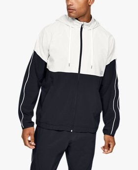 Men's UA Recover Woven Warm-Up Jacket