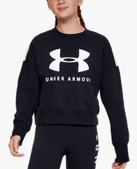 Girls' UA Sportstyle Fleece Crew