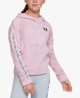 Girls' UA Sportstyle Fleece Hoodie