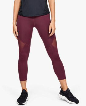 Dameslegging UA RUSH crop