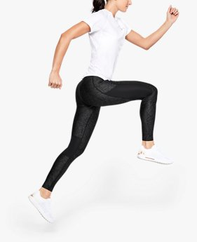 Damen UA Speed Stride Tights mit Print