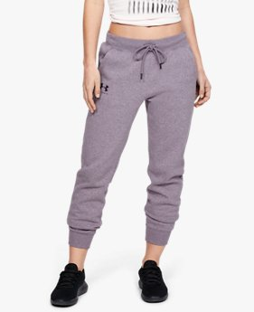 Women's UA Rival Fleece Sportstyle Graphic Pants