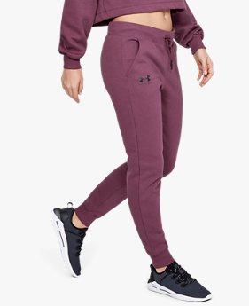 Women's UA Rival Fleece Sportstyle Graphic Trousers