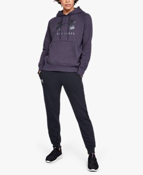 Sudadera con Capucha UA Rival Fleece Sportstyle Graphic para Mujer