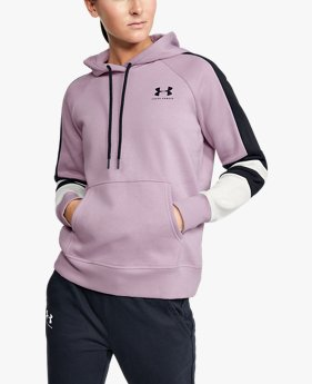 Women's UA Rival Fleece LC Logo Novelty Hoodie