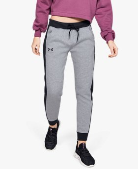 Women's UA Rival Fleece Graphic Novelty Trousers